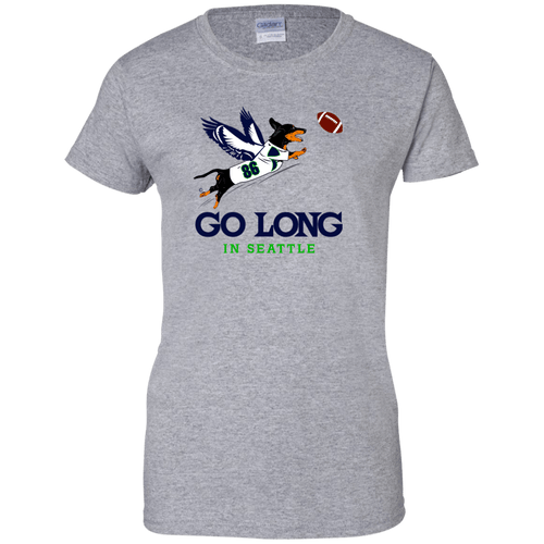 Go Long in Seattle Ladies' T-Shirt