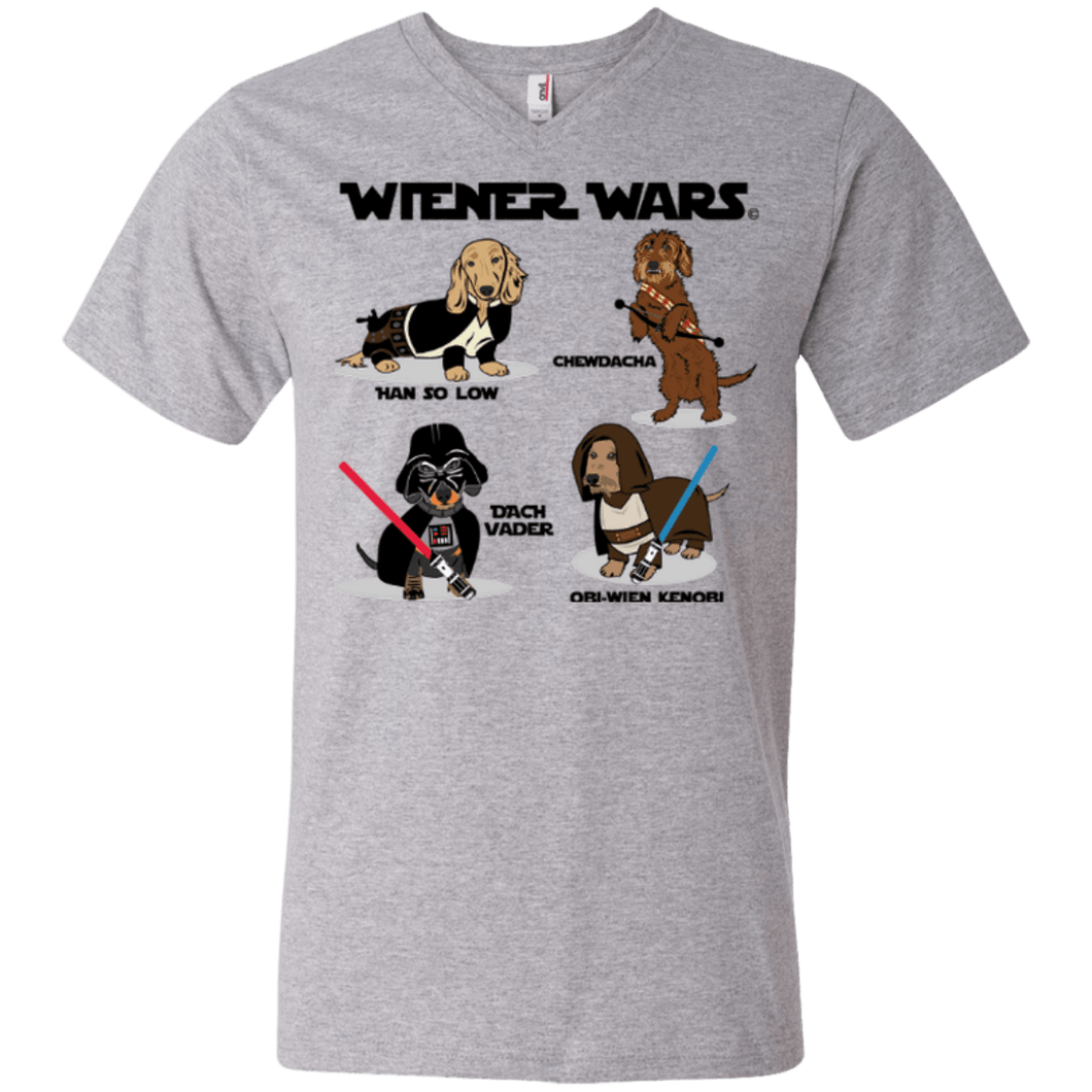 Wiener Wars Cast Men's V-Neck T-Shirt
