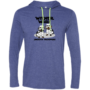 Wiener Wars Smooth Troopers LS T-Shirt Hoody