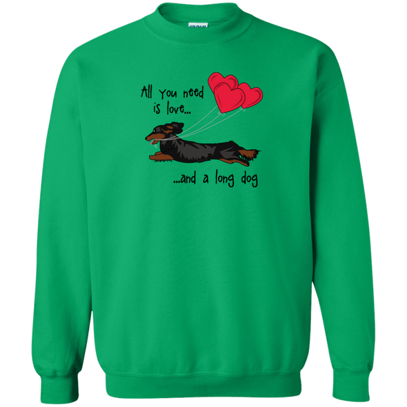 All You Need Is Love lh (B&T) Crewneck Pullover Sweatshirt