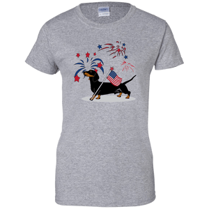 Patriotic Smooth B&T Ladies' 100% Cotton T-Shirt