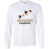 Go Long Longhorns LS Ultra Cotton T-shirt