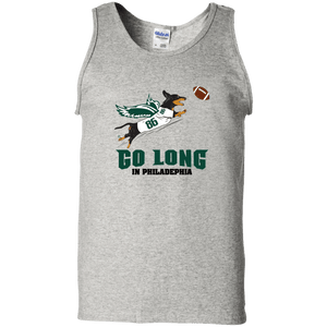 Go Long in Philadelphia Unisex 100% Cotton Tank Top