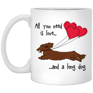 All You Need Is Love LH (Red) 11 oz. Ceramic Mug