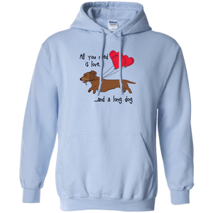 All You Need Is Love WH (Red) Pullover Hoody