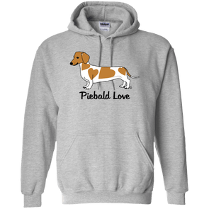 Piebald Love (Red) 50/50 Pullover Hoody