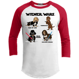 Wiener Wars Cast 100% Cotton Baseball Shirt
