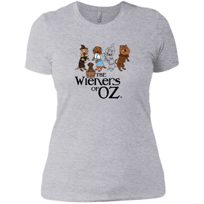 Wieners of Oz Next Level Ladies' Boyfriend Tee
