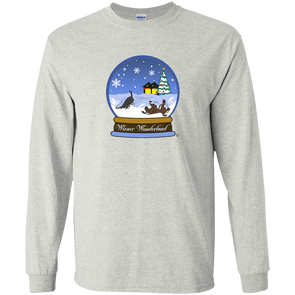 Snow Globe Christmas Unisex LS Ultra Cotton T-shirt