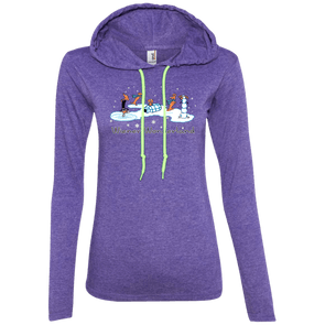 Wiener Wonderland Design 1 Ladies' LS T-Shirt Hoody