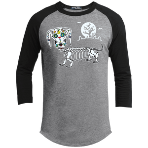 Mr. Bones Sugar Skull Baseball Shirt