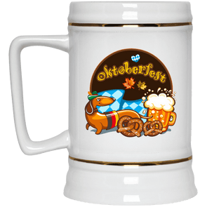 Oktoberfest 22 oz. Ceramic Beer Stein