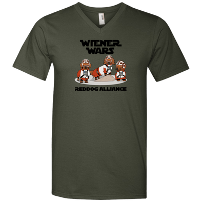 Reddog Alliance Men's V-Neck T-Shirt
