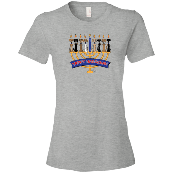 Yappy Hanukkah Ladies' Lightweight T-Shirt