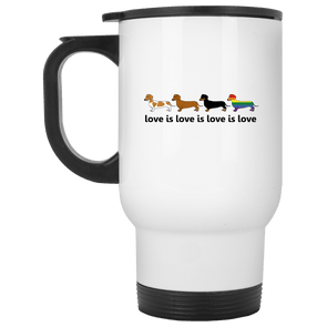 Love Is Love 14 oz. Stainless Steel Travel Mug