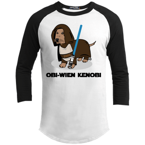 Obi-Wien Kenobi 100% Cotton Baseball Shirt