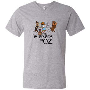 Wieners of Oz Men's V-Neck T