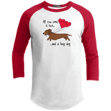 All You Need Is Love WH (Red) Baseball Jersey