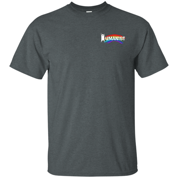 Humanist-White-Left Pocket Ultra Cotton T-Shirt