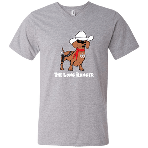 The Long Ranger Men's V-Neck T-Shirt