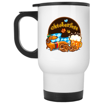 Oktoberfest 14 oz. Stainless Steel Travel Mug