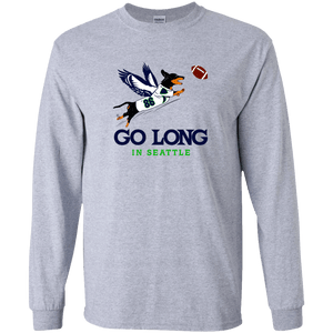 Go Long in Seattle Unisex LS Ultra Cotton T-Shirt