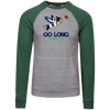 Go Long in Seattle Tri-blend Vintage Fleece Heathered Crew