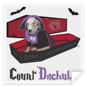 Count Dachula Sticker