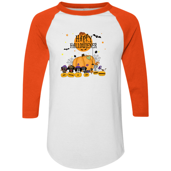Hallowiener - Cats Colorblock Raglan Jersey