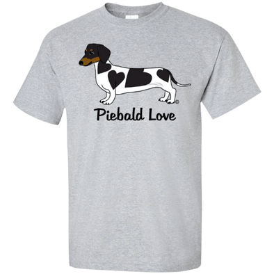 Piebald Love (Black) Ultra Cotton T-Shirt