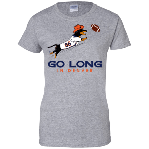 Go Long Denver Ladies' 100% Preshrunk Cotton T-Shirt