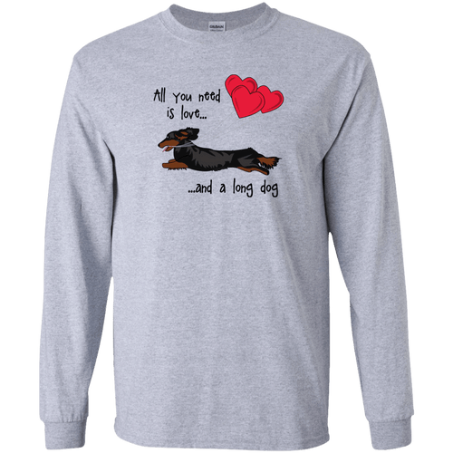 All You Need Is Love LH (B&T) Unisex LS Ultra Cotton T-Shirt