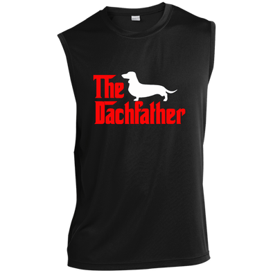 The Dachfather (SH) Sleeveless Moisture-Wicking T-Shirt