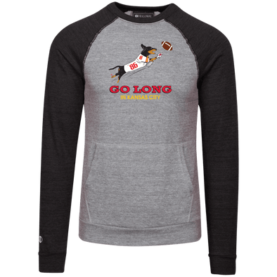 Go Long in Kansas City Vintage Fleece Heathered Crew