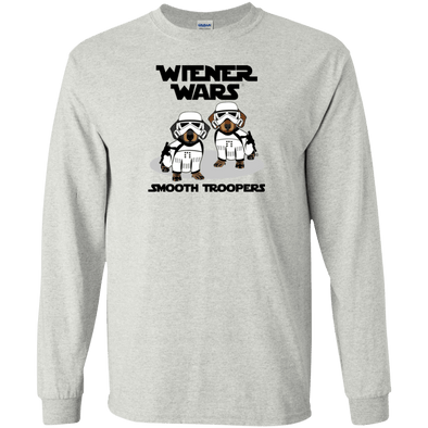 Wiener Wars Smooth Troopers Unisex LS Ultra Cotton T-Shirt