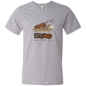 Dirty Dogs Men's V-Neck T-Shirt