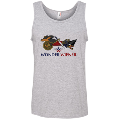 Wonder Wiener 100% Ringspun Cotton Tank Top