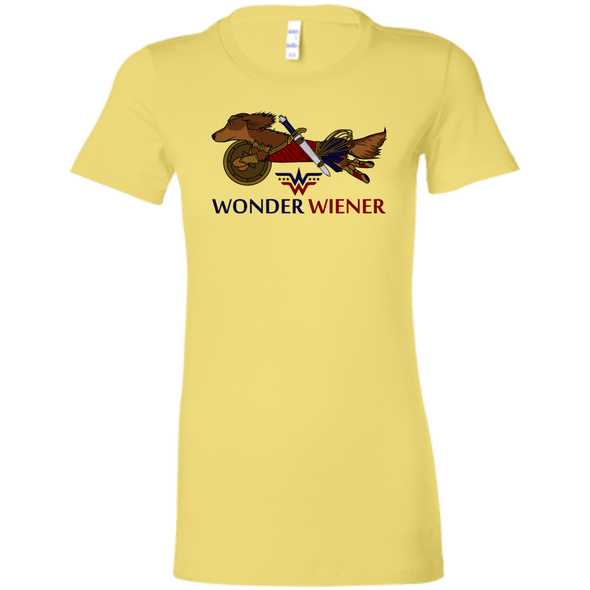 Wonder Wiener (R) Bella + Canvas Ladies' T-Shirt