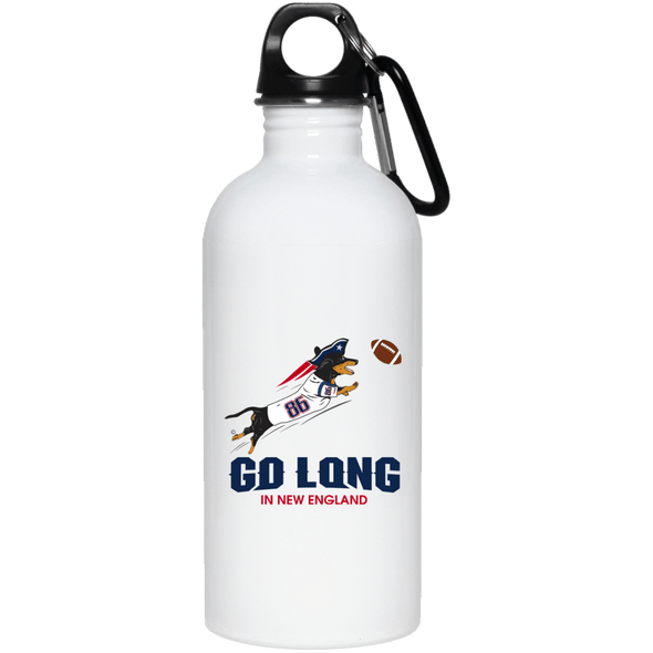 Go Long in New England 20 oz. Stainless Steel Water Bottle