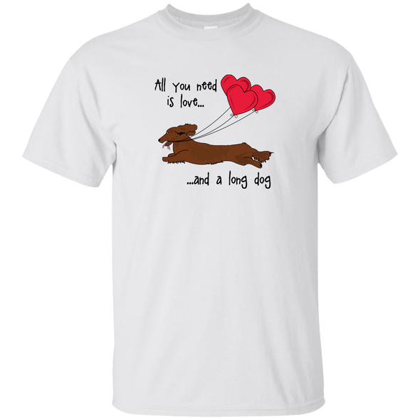 All You Need Is Love LH (Red) Unisex Ultra Cotton T-Shirt