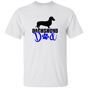 Dachshund Dad Shorthair (Blue) Ultra Cotton T-Shirt