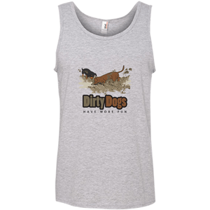 Dirty Dogs (2) Unisex 100% Ringspun Cotton Tank Top