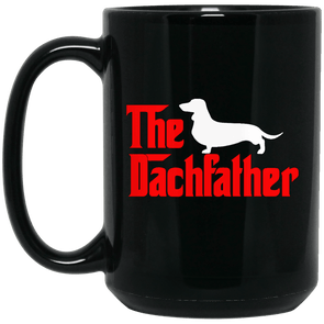 The Dachfather (SH) Black 15 oz. Mug