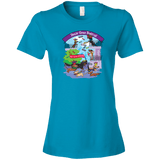 Doxie Gras Festival Ladies' Lightweight T-Shirt