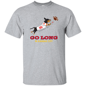 Go Long in Kansas City Unisex Ultra Cotton T-Shirt
