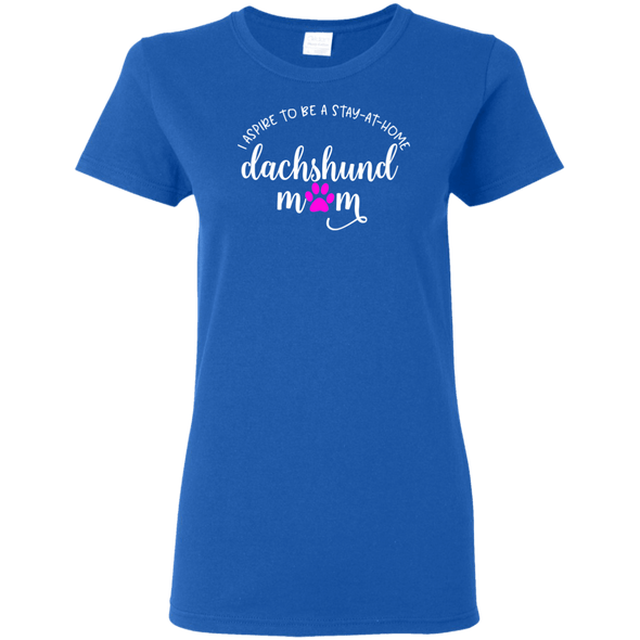 Stay Home Dachshund Mom Ladies' T-Shirt