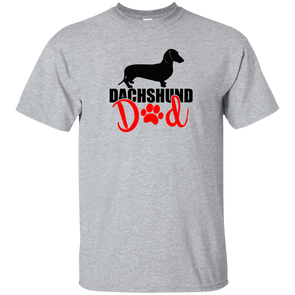 Dachshund Dad Shorthair (Red) Unisex Ultra Cotton T-Shirt