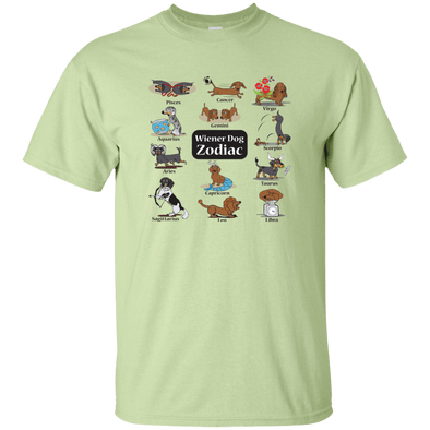 Wiener Dog Zodiac Unisex Ultra Cotton T-Shirt
