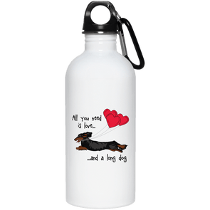 All You Need Is Love LH (B&T) 20 oz Stainless Steel Water Bottle