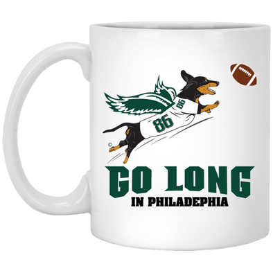 Go Long in Philadelphia 11 oz. Ceramic Mug